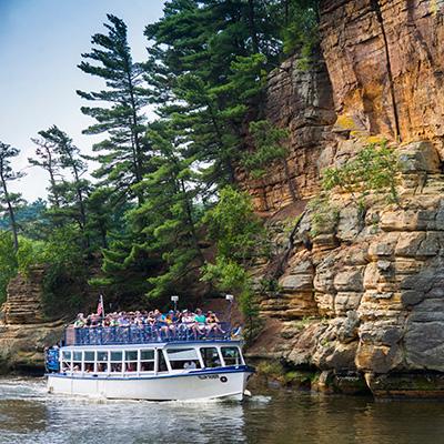 Upper Dells Boat Tours Tickets